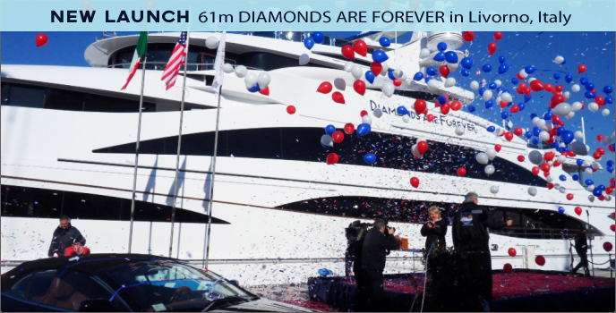 diamonds are Forever Launch